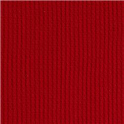 Cotton Thermal Knit Red