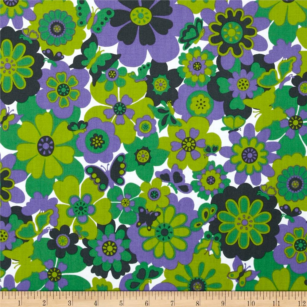 Let's Play Dolls Mod Flowers Purple