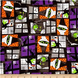 Halloween l Patchwork Black