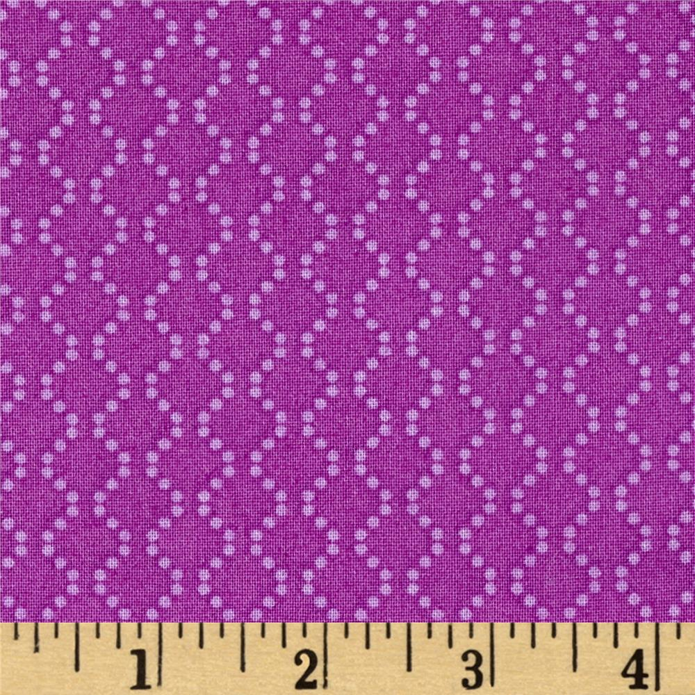 Rumble Dotted Chain Purple