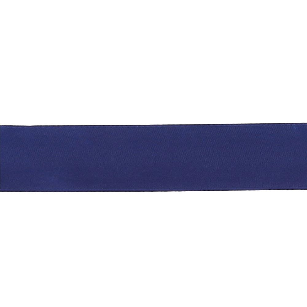 "May Arts 1 1/2""  Double Sided Satin Ribbon Spool Royal Blue"