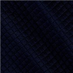 Telio Mini Quilted Knit Diamond Navy
