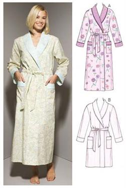 Kwik Sew Shawl Collar Robes Pattern