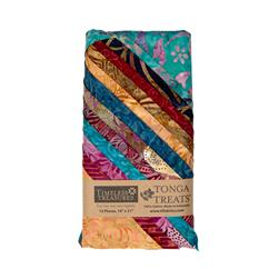 Tonga Batik Boysenberry Treat Stacked Fat Quarter Assortment