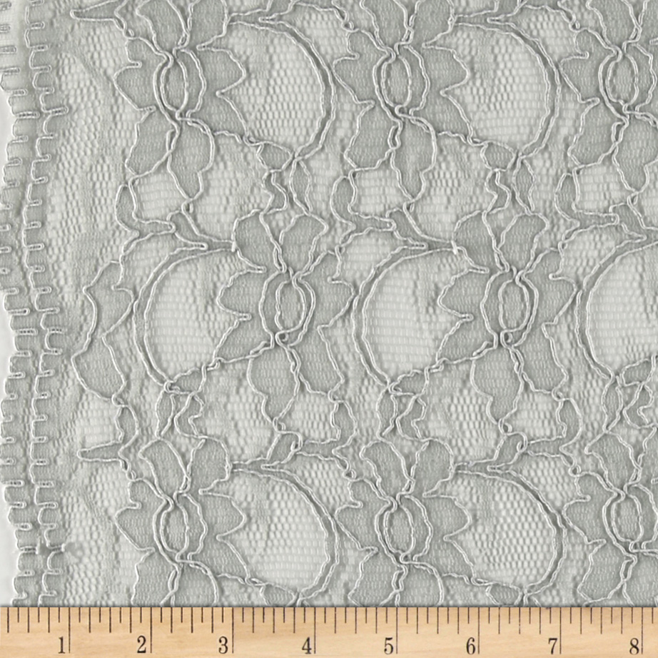 Supreme Lace Grey Fabric