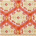 Tangier Ikat Medallion Orange