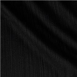 Kaufman Cotton Boucle Solid Black
