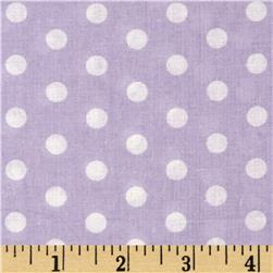 Forever Small Polka Dot Lilac Fabric