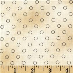 Jeanne Horton The Settlement Collection Circle Shirting Grey