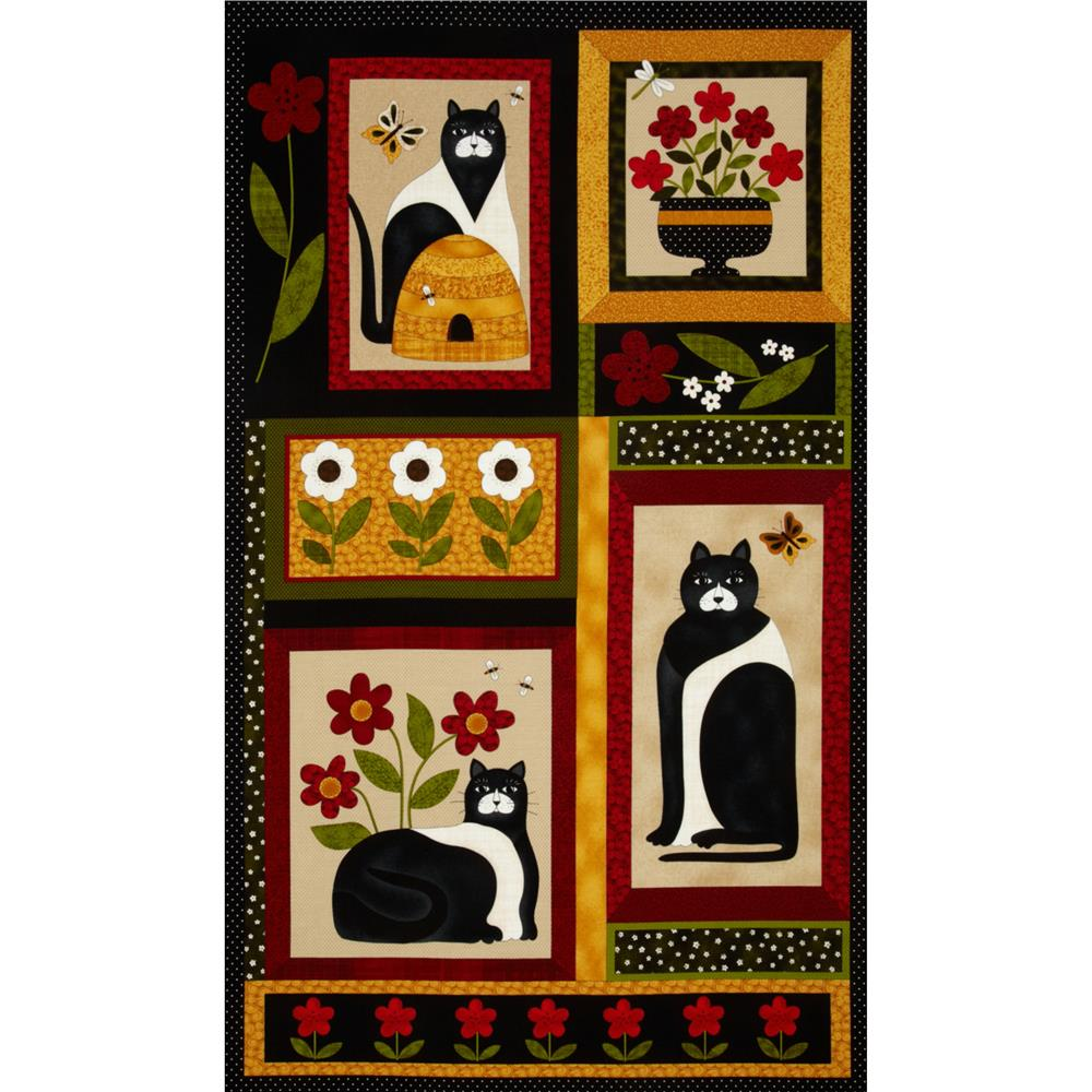 A Cat For All Seasons Cat Panel Multi