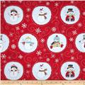 Flaky Snow Pals Snowballs Red