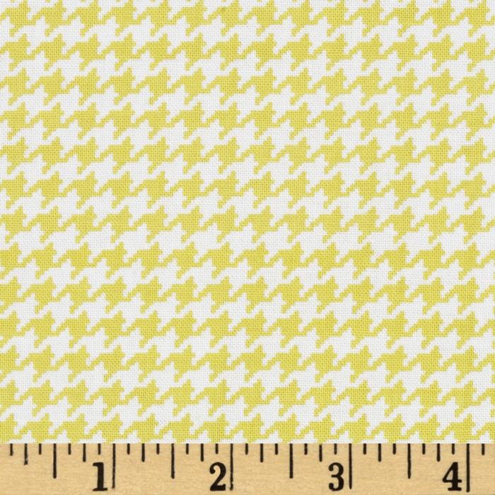 Michael Miller Tiny Houndstooth Starfruit