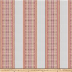 Kendall Wilkinson Indoor/Outdoor Jacquard Sunset Stripe Glow