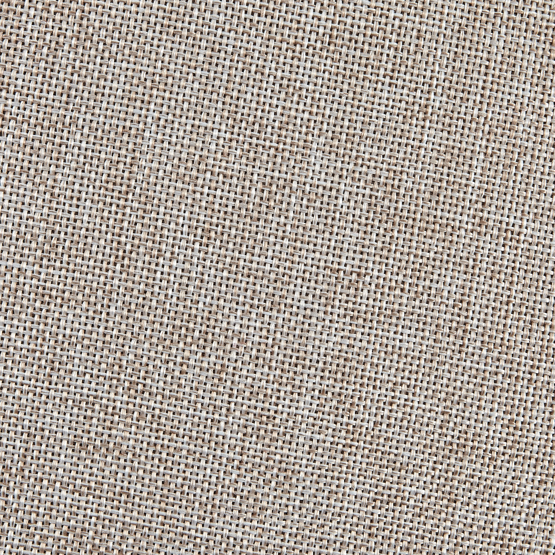 Vintage Poly Burlap Taupe Fabric by Ben in USA