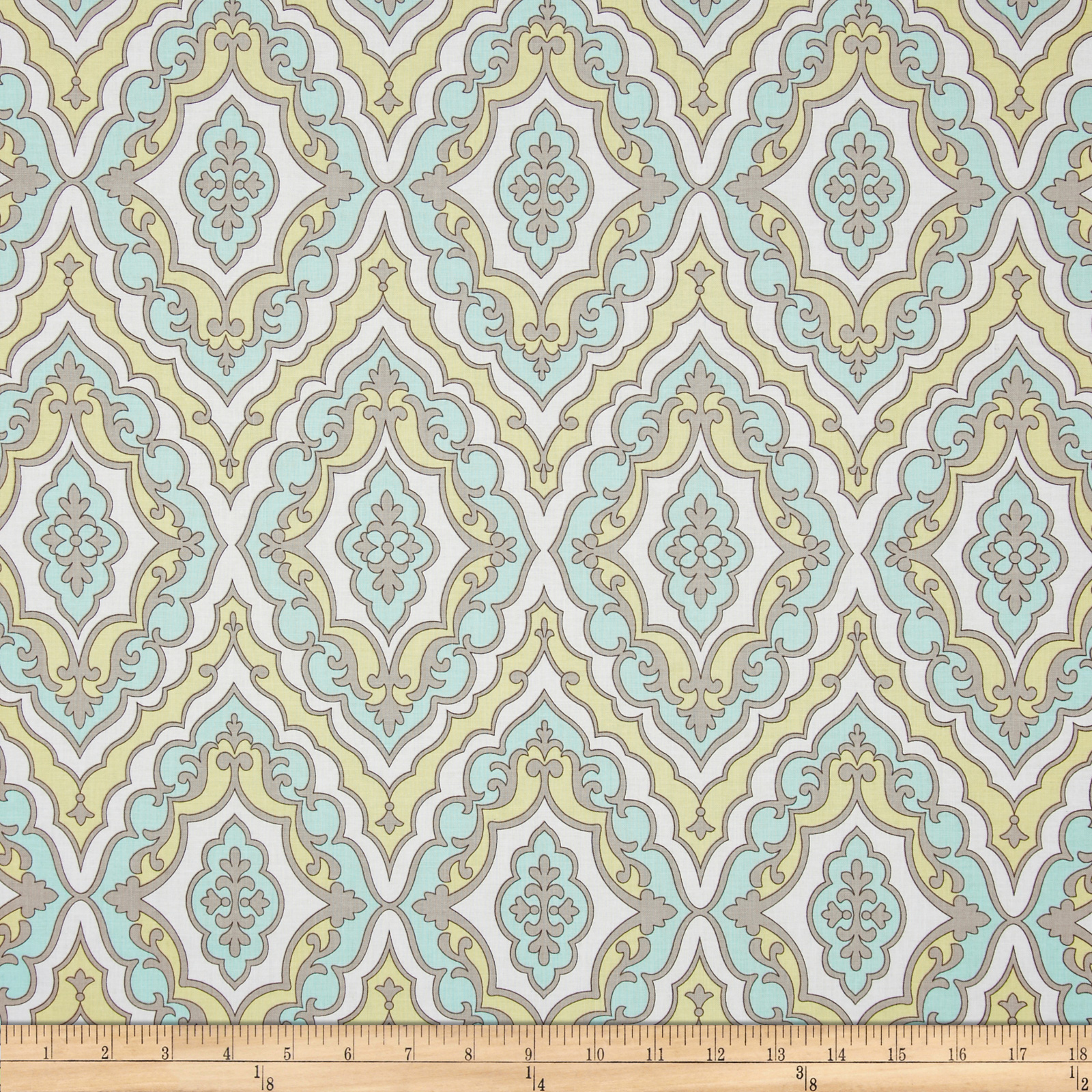 Michael Miller Daydream Girl's Best Friend Aqua Fabric
