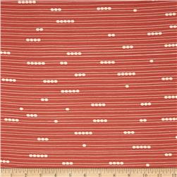 Birch Organic Mod Basics Interlock Knit Abacus Coral