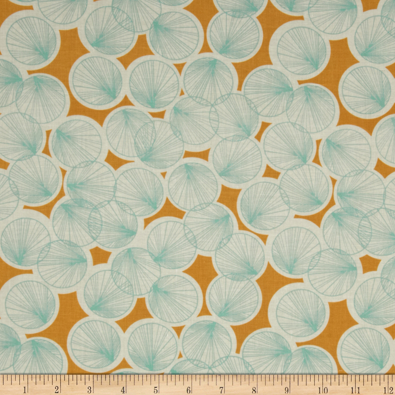 Joel Dewberry Botanique Lily Pads Butter Fabric