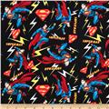 Superman Flashing Lights Black/Multi
