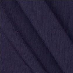 Lyric Wide Crinkle Polyester Shirting Concord Grape
