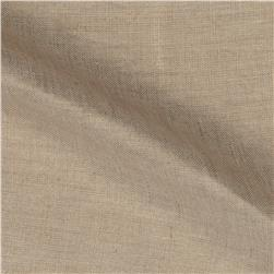 Roma Hanky Metallic Linen Gold on Oatmeal