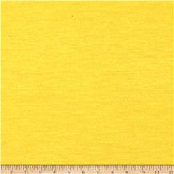 Lightweight Stretch Jersey Knit Yellow