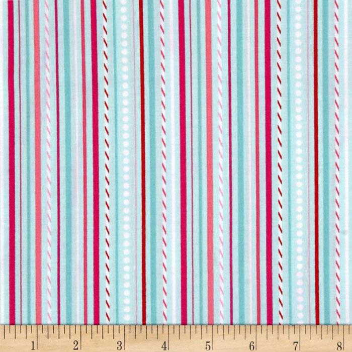 Riley Blake Sweetcakes Stripes Blue
