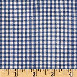 Kaufman 1/8'' Carolina Gingham Royal Fabric