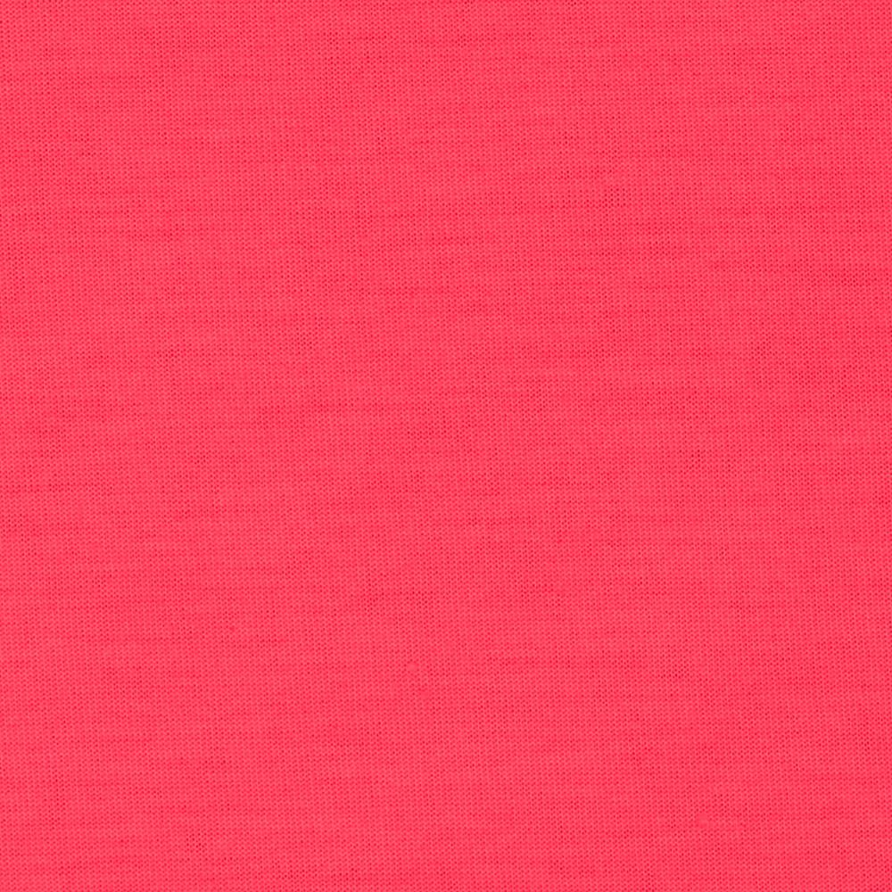 Spun Poly Jersey Knit Solid Neon Pink
