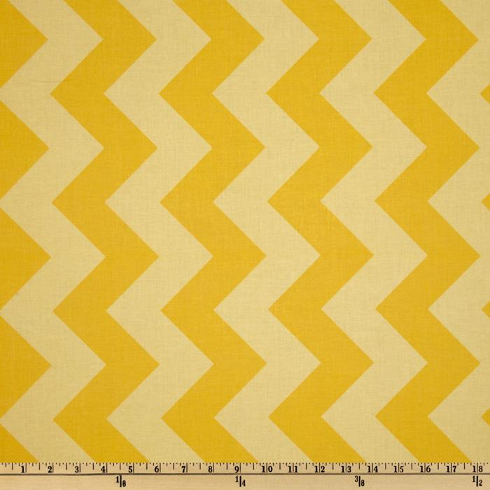 Riley Blake Chevron Large Tonal Yellow