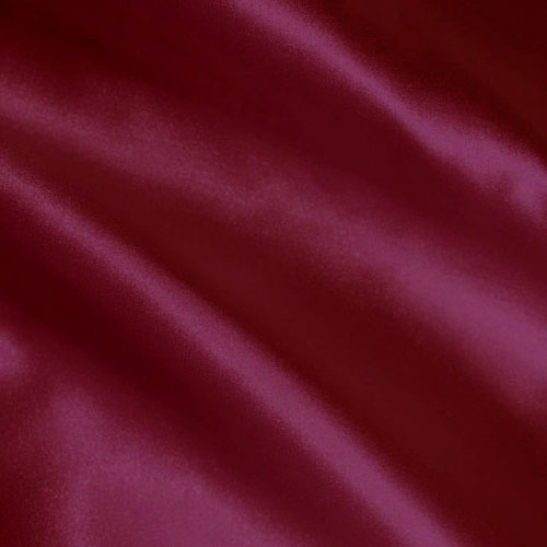 Charmeuse Satin Burgundy Fabric