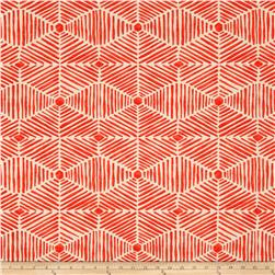 Premier Prints Heni Slub Salmon Fabric