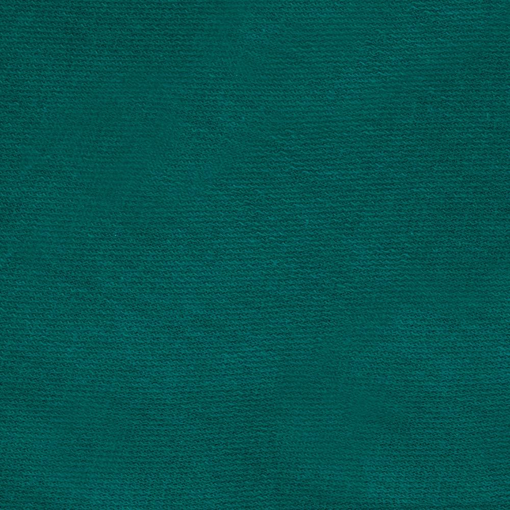 French Terry Knit Teal