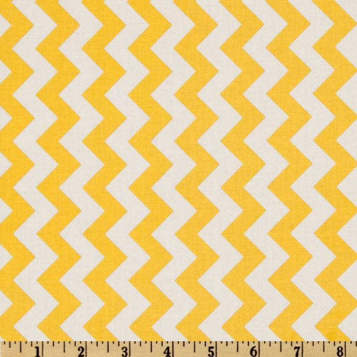 Riley Blake Chevron Small Yellow