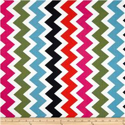 Ziggy Chevron Med Multi Fabric