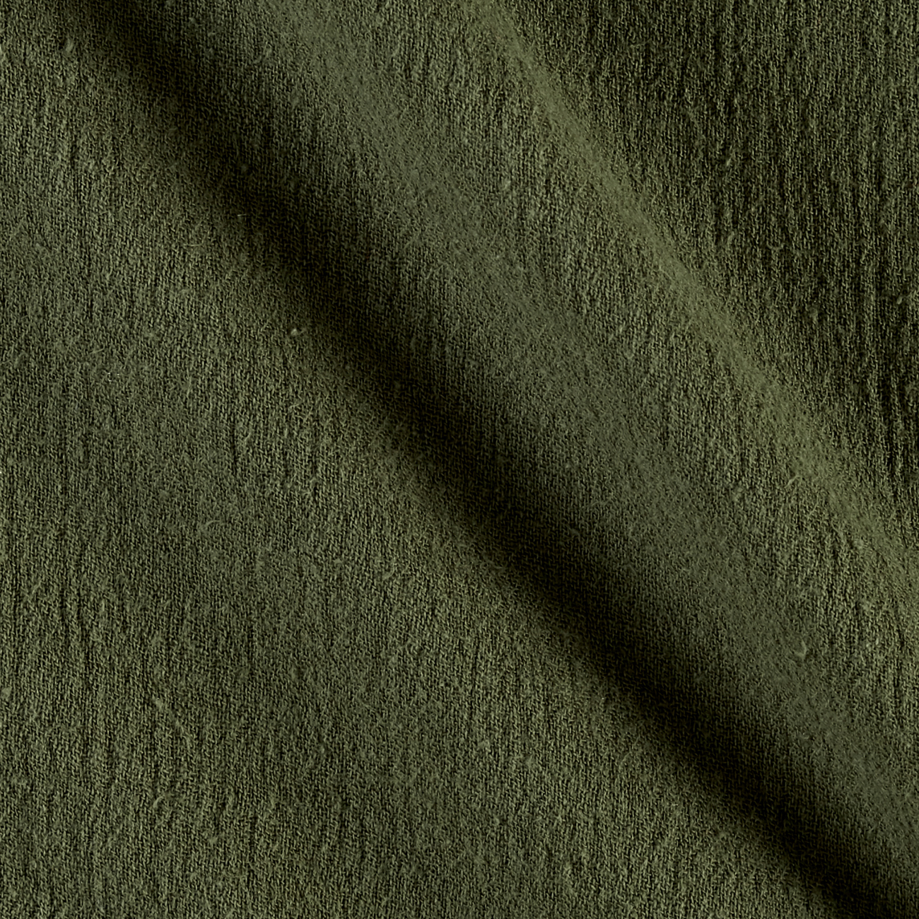 Island Breeze Gauze Olive Fabric by Ben in USA