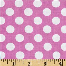 Michael Miller Ta Dot Azalea Fabric
