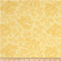 Moda Whitewashed Cottage 108'' Wide Quilt Backs Daffodil