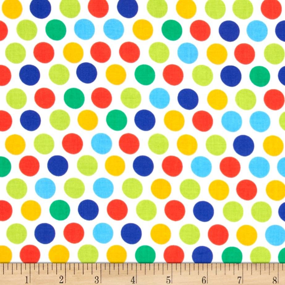 Michael Miller Retro Diddly Dot Primary