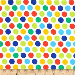 Michael Miller Diddly Dot Retro Primary Fabric