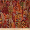 Kaffe Fassett Collective Feathers Brown