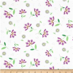 LuLu Multi Small Floral Purple