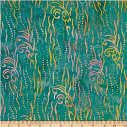 Timeless Treasures Tonga Batik Hawaii Streamers Lake