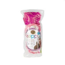 Lion Brand Keppi Yarn Crochet Hat Kit Cotton Candy Pink