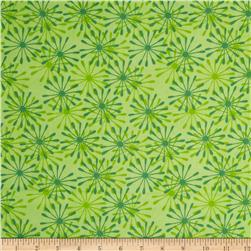 Camizu Abstract Floral Green