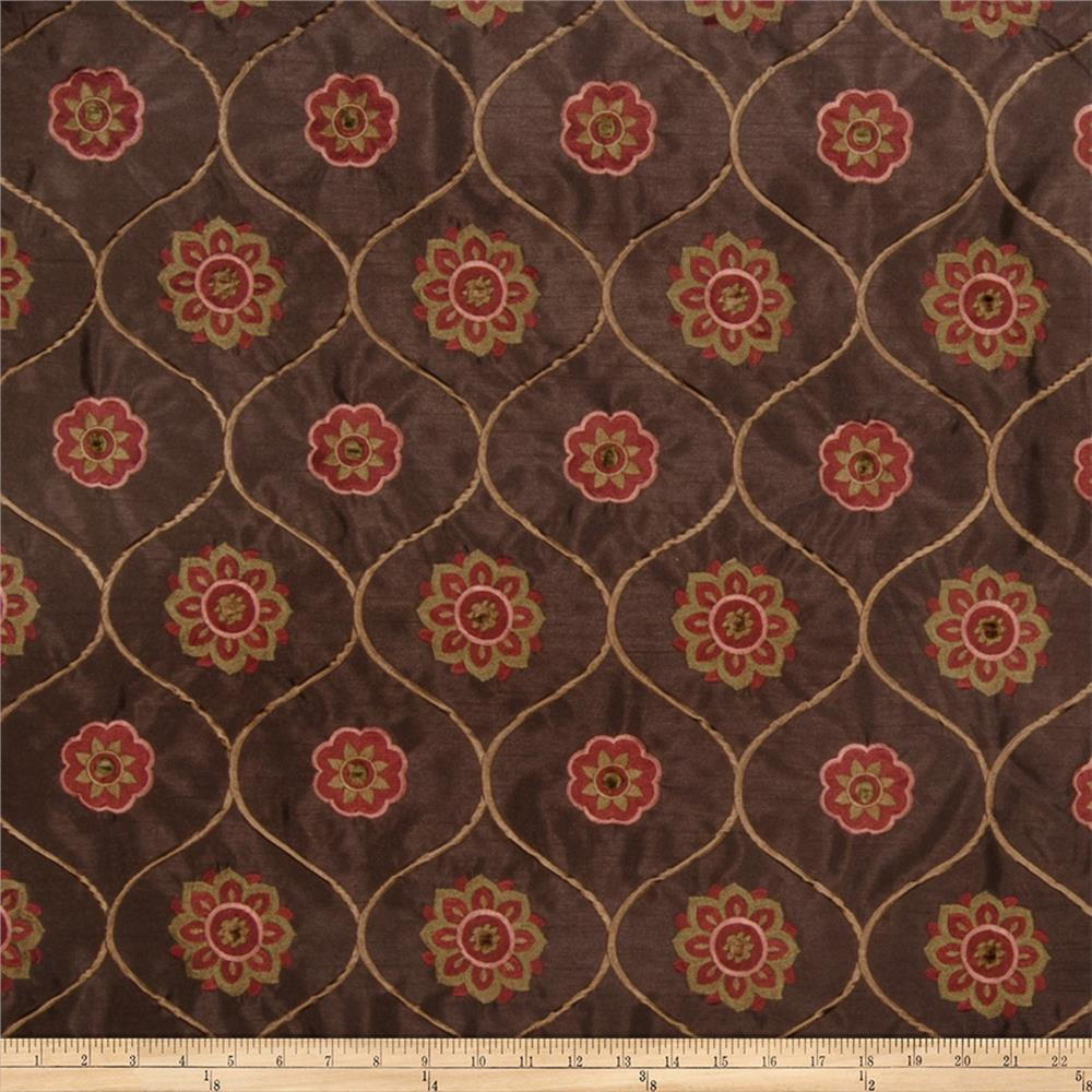 Jaclyn Smith 2096 Faux Silk Spice