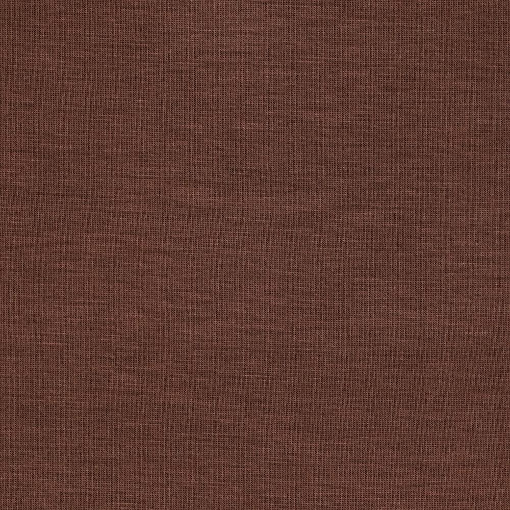 Stretch Rayon Jersey Knit Brown