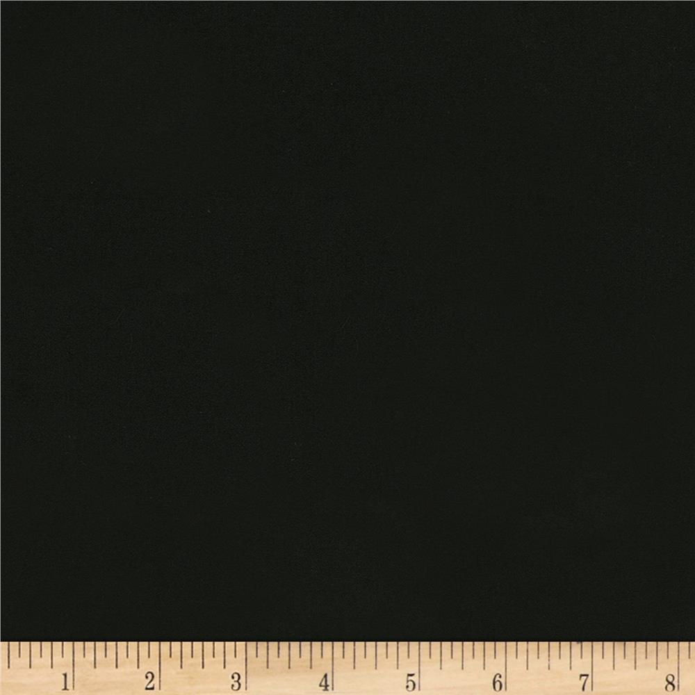 Kaufman radiance cotton silk satin black discount for Black fabric