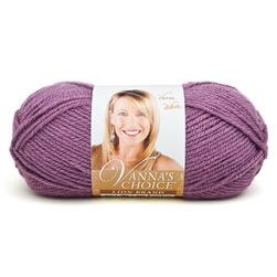 Lion Brand Vanna's Choice Yarn (146) Dusty Purple