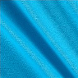 Nylon Activewear Knit Solid Sky Blue