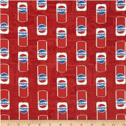 Pepsi Cans Red